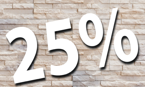 Декоративные камни на складе до конца этого года -25%.